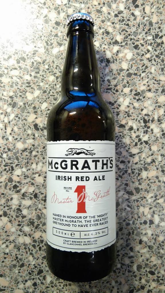 Clanconnel Brewing Company - McGraths - 1 - Irish Red Ale