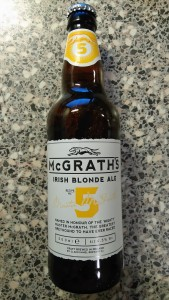Clanconnel Brewing Company - McGraths - 5 - Irish Blond Ale