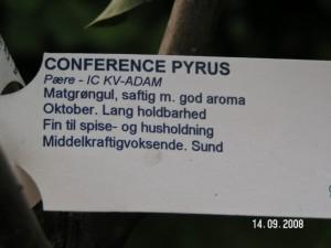 Conference plante info