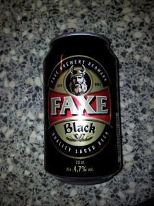 Faxe - Black
