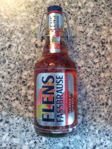 Flensburger Brauerei - Flens Fassbrause - Rhabarber Erdbeer