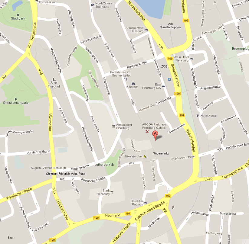 GoogleMaps Flensburg Galerie