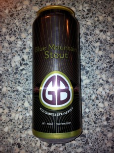 Gourmetbryggeriet - Blue Mountain Stout