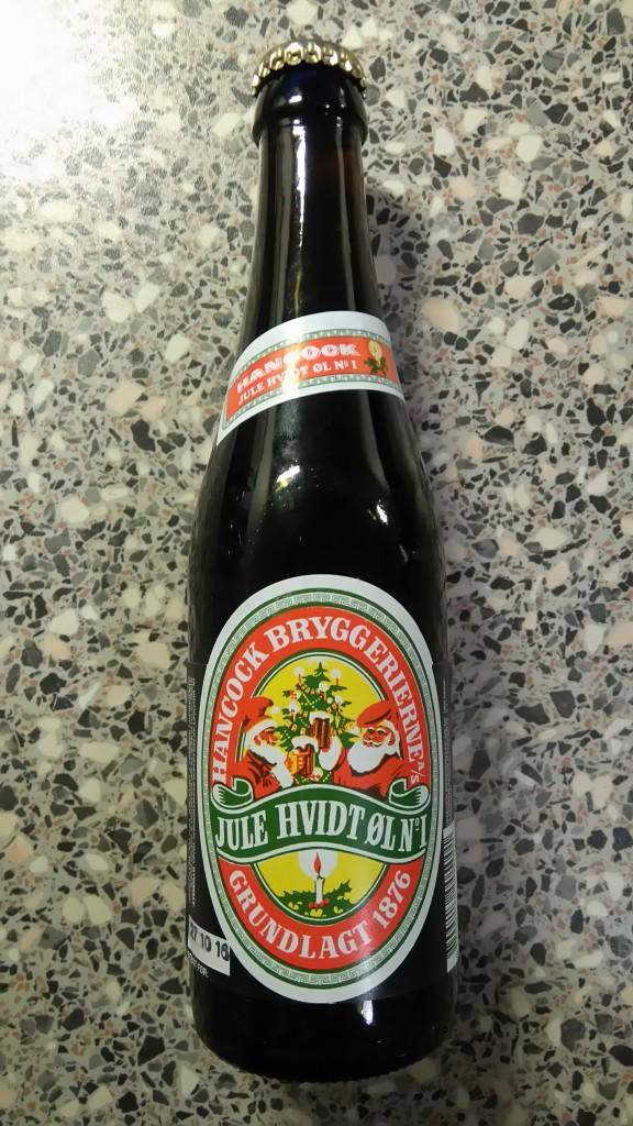Hancock - Jule Hvidt øl No 1
