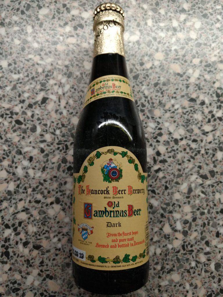 Hancock Bryggerierne - Old Gambrinus Beer - Dark