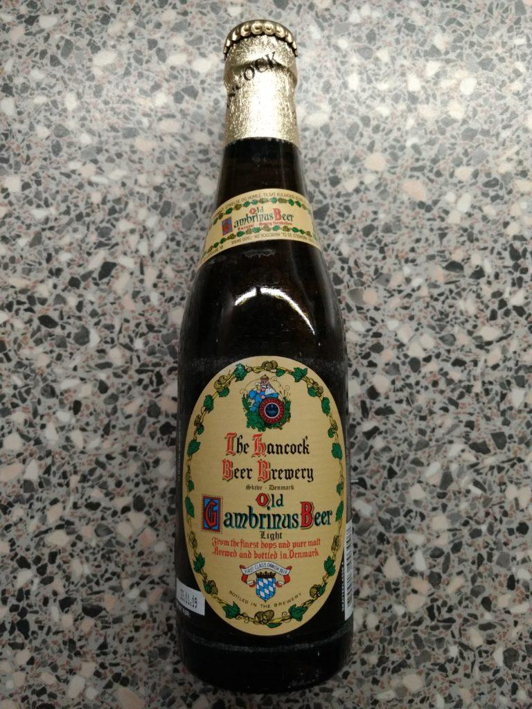 Hancock Bryggerierne - Old Gambrinus Beer - Light