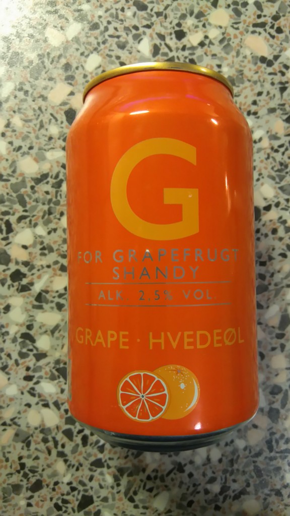 Harboes Bryggeri - G For Grapefrugt Shandy