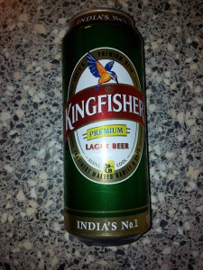 King Fisher Beer - Premium Lager Beer