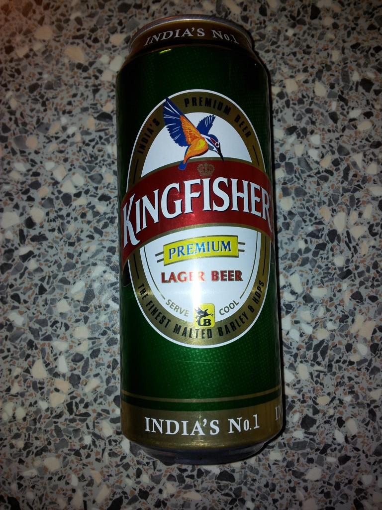 King Fisher Beer - Premium Lager Beer