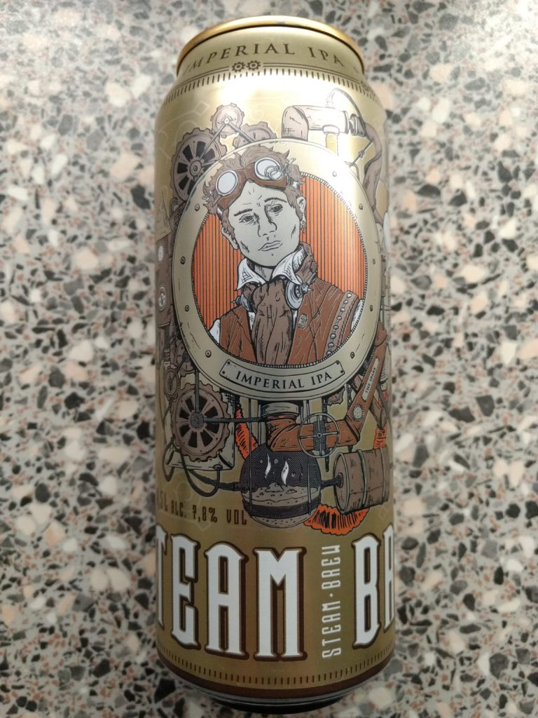 Privatbrauerei Eichbaum - Steam Brew - Imperial IPA